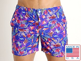 LASC Laguna Swim Shorts Royal Undersea