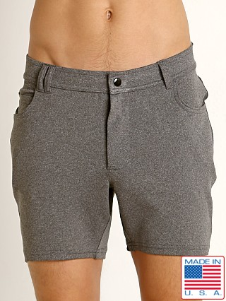 LASC Stretch Jean Walk Short Grey