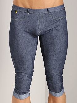 Tulio Stretch Denim Long Jean Denim