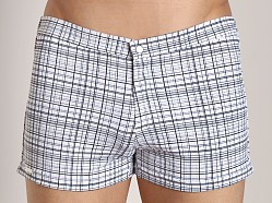 Tulio Ultralite Plaid Vintage Short Black