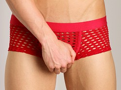 Tulio Lounge Shotgun Mesh Trunk Red