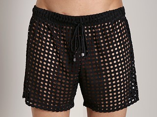 Tulio Lounge Shotgun Mesh Short Black