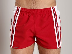 Tulio Active Nylon Shorts Red