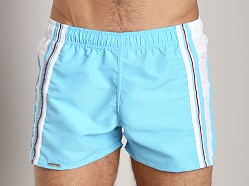 Tulio Active Nylon Shorts Light Blue