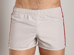 Tulio Active Side Detail Short Tan