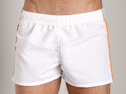 Tulio Active Side Detail Short White