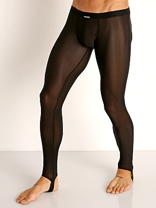 Manstore Fine Mesh Leggings Black
