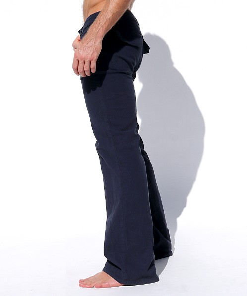 Rufskin Ranger Stretch Cotton Twill Flare-Leg Pants Twilight