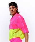 Rufskin Bulle Nylon Rip-Stop Sport Top Pink AF, view 3