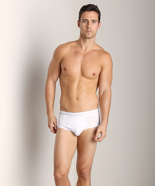 Wood Classic Brief White