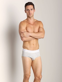 Wood Classic Brief Heather Grey