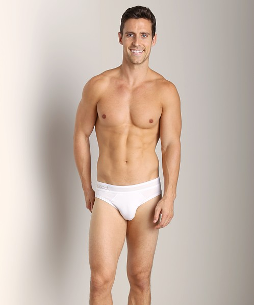 Wood Hip Brief White