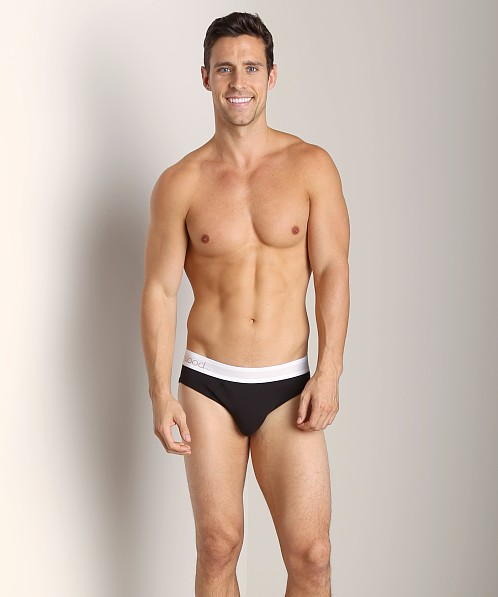 Wood Hip Brief Black