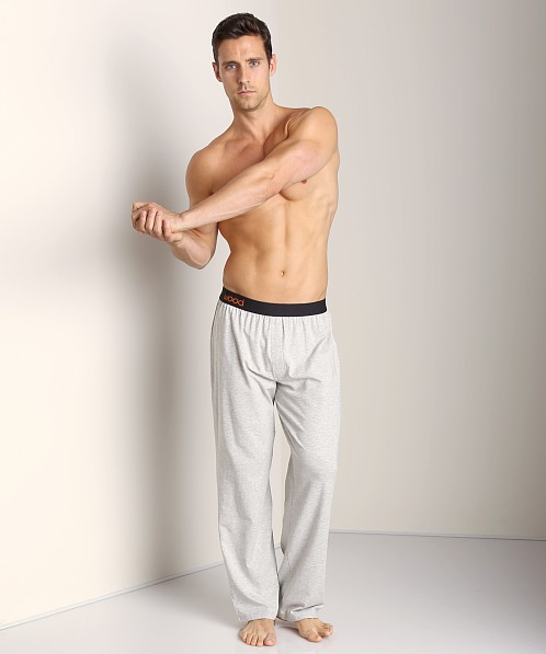 Wood Lounge Longpant Heather Grey