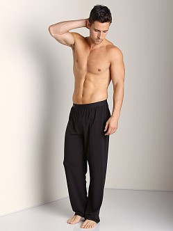 Wood Lounge Longpant Black