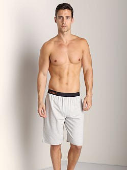 Wood Lounge Shortpant Heather Grey