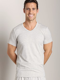 Wood V-Neck Tee Heather