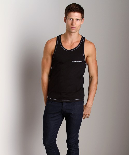 Bad Boy Muscle Shirt Black