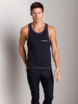 Bad Boy Muscle Shirt Navy
