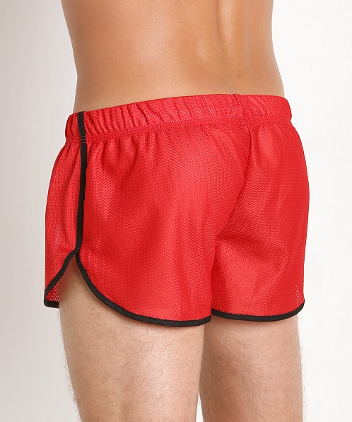 McKillop Ignite Sports Mesh Shorts Red/Black
