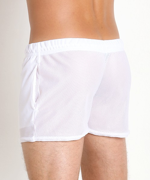 McKillop Shadow Sports Mesh Shorts White