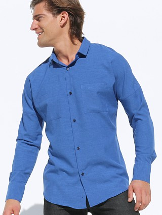 Rufskin Kiko Button Down Microfiber Shirt
