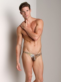 CockSox Enhancing Swim Brief Leopard Print