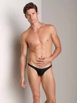 CockSox Enhancing Swim Thong Midnight Black