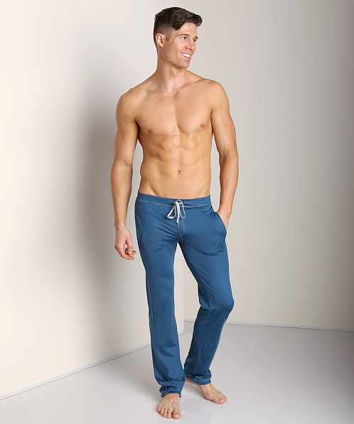 Sauvage Low Rise Nylon/Lycra Workout Pant Teal