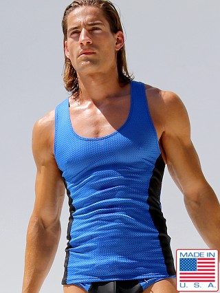 Rufskin Khal Mesh Rubber Sports Tank Top Royal