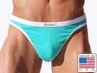 Rufskin Delta Cotton/Spandex Thong Spearmint Green