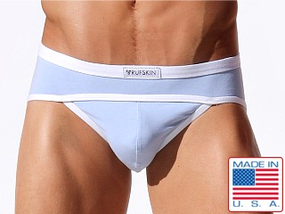 Rufskin Contour Cotton/Spandex Brief Sky Blue