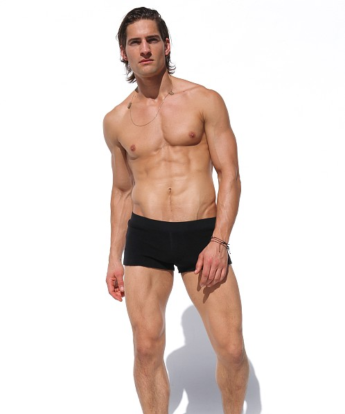 Rufskin Cub Fleece Lounge Shorts Black