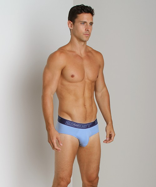 2xist Touch Ultra Contour Pouch Brief Chalk Blue