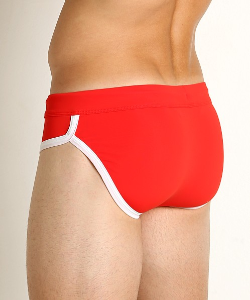 2xist Jogger Rio Swim Brief Fiery Red