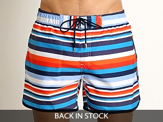 2xist Jogger Ibiza Swim Shorts Orange.com