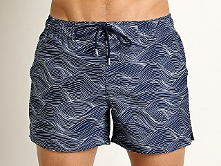 2xist Wave Ibiza Swim Shorts White/Varsity Navy