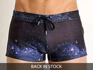 2xist Universe Cabo Swim Trunk Black