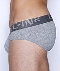 C-IN2 Core Low Rise Brief Grey Heather, view 3
