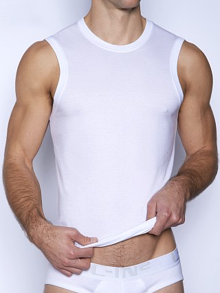 C-IN2 Core Sleeveless Crew Neck Shirt White