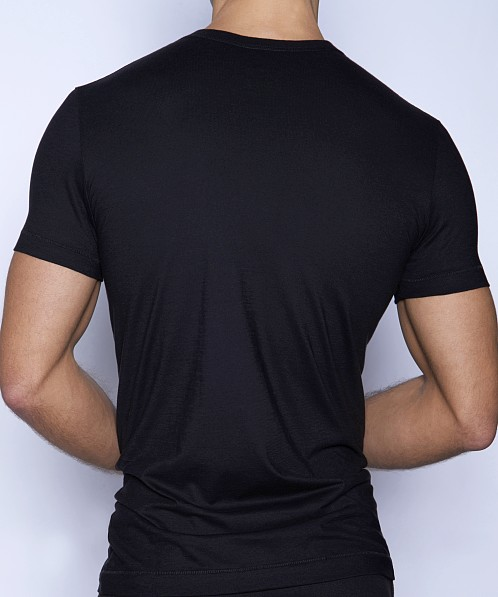 C-IN2 Core V-Neck Shirt Black