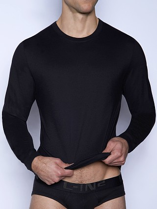 C-IN2 Core Long Sleeve Crew Neck Shirt Black