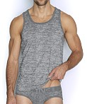 C-IN2 Hand Me Down Relaxed Tank Top Ash Heather, view 1