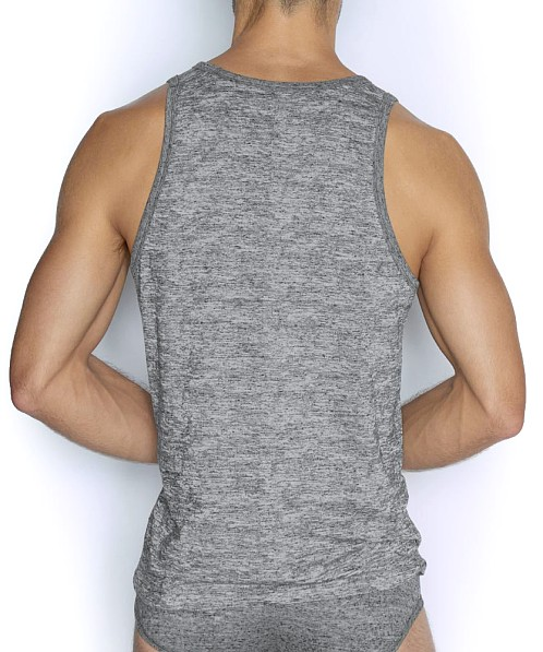 C-IN2 Hand Me Down Relaxed Tank Top Ash Heather