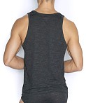 C-IN2 Hand Me Down Relaxed Tank Top Coal Heather, view 2