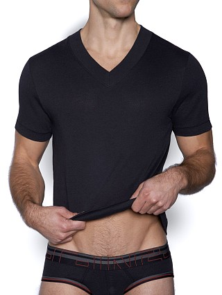 Complete the look: C-IN2 Zen V-Neck Shirt Black
