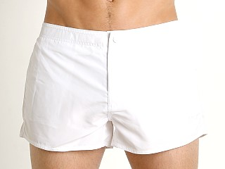 Emporio Armani Core Swim Shorts Bianco
