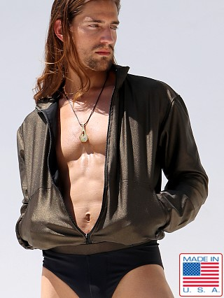 Model in bronze Rufskin Stellar Scorpius Jacket