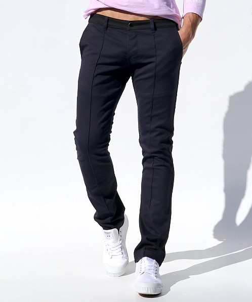 Rufskin Chux Stretch Low Rise Jeans Navy/Black