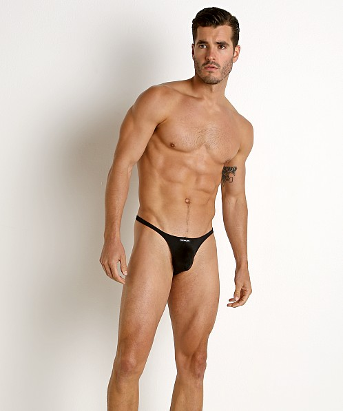 Rick Majors Power Spandex Thong Black